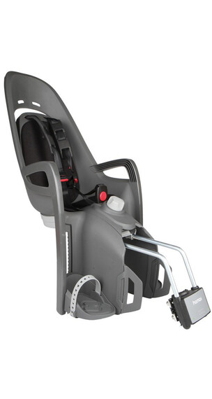Hamax Zenith Relax Kids Bicycle Seat Children Frame tube grey/black